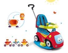 Set babytaxiu Maestro Confort Smoby cu leagăn şi 3 maşinuţe Imagin Car Cotoons de la 6 luni