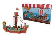 Nezaradené - Stavebnica PlayBIG Bloxx BIG Wickie loď vikingov s 2 figúrkami 124 kusov od 1,5 - 5 rokov_1