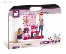 Dekorácia do detskej izby Dressing Magneti´ Stick Janod magnetická nálepka od 4-10 rokov