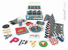Detská narodeninová sada Racing Happy Janod s pretekármi od 3-8 rokov