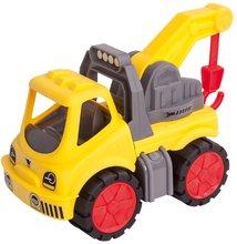 Játék vontatóautó Power BIG munkagép hossza 37 cm 2 éves kortól sárga