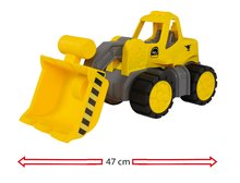 Autá do piesku - Buldozér Maxi Bolide Smoby dĺžka 47 cm_5