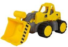 Dětský nakladač Power BIG pracovní stroj délka 47 cm od 2 let žlutý