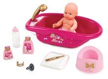 Domčeky pre bábiky sety - Set prebaľovací stôl pre bábiku Baby Nurse Srdiečko Smoby a vanička pre bábiku_1