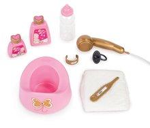 Domčeky pre bábiky sety - Set prebaľovací stôl pre bábiku Baby Nurse Srdiečko Smoby a vanička pre bábiku_4