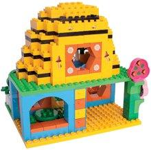 Stavebnice BIG-Bloxx ako lego - Stavebnica PlayBIG Bloxx BIG Včielka Maja v domčeku s 3 figúrkami 213 dielov od 18 mes_0