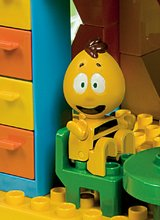 Stavebnice BIG-Bloxx ako lego - Stavebnica PlayBIG Bloxx BIG Včielka Maja v domčeku s 3 figúrkami 213 dielov od 18 mes_4