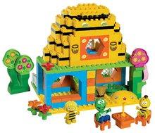 Stavebnice BIG-Bloxx ako lego - Stavebnica PlayBIG Bloxx BIG Včielka Maja v domčeku s 3 figúrkami 213 dielov od 18 mes_1