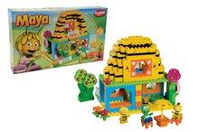 Stavebnice BIG-Bloxx ako lego - Stavebnica PlayBIG Bloxx BIG Včielka Maja v domčeku s 3 figúrkami 213 dielov od 18 mes_5