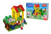 BIG 57076 stavebnica PlayBIG Bloxx Peppa Pig na ihrisku s 2 figúrkami 75 dielov od 18 mesiacov