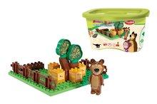 BIG 57092 stavebnica PlayBIG Bloxx Máša a medveď v záhradke 1 figúrka 21 dielov od 18 mesiacov