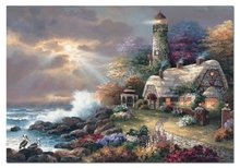 Régi termékek - Puzzle Mennyei Fény (James Lee) Educa 2000 db + Fix Puzzle ragasztó_0