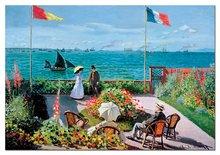 Puzzle 2000 dielne - Puzzle The Terrace At Sainte-Adresse, Claude Monet Educa 2000 dielov_0