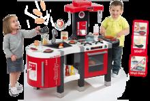 Kuchynky pre deti sety - Set kuchynka Tefal French Touch Bublinky Smoby s magickým bublaním a obedový set so sviečkami_8