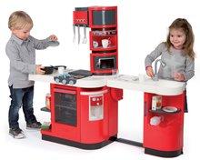 Kuchynky pre deti sety - Set kuchynka CookMaster Smoby so zvukmi a ľadom a obchod Supermarket s pokladňou_9