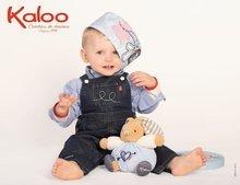 Hračky pre bábätká - Plyšový zajačik Blue Denim-Chubby Rabbit Kaloo 25 cm v darčekovom balení pre najmenších modrý_2