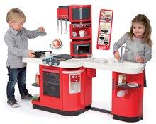 Kuchynky pre deti sety - Set kuchynka CookMaster Smoby so zvukmi a ľadom a obchod Supermarket s pokladňou_3