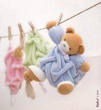 Hračky na maznanie a usínanie - Plyšový medvedík na maznanie Plume-Raspberry Bear Doudou Kaloo 20 cm v darčekovom balení pre najmenších ružový_1