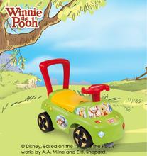 Produse vechi - Babytaxiu Winnie The Pooh Auto 2in1 Smoby verde de la 10 luni_6