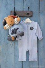 Hračky pre bábätká - Plyšový zajačik Blue Denim-Chubby Rabbit Kaloo 25 cm v darčekovom balení pre najmenších modrý_3