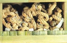 Hladké lano na šplhanie Smoby (dĺžka 245 cm)