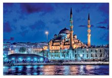1500 delne puzzle - Educa 14847 PUZZLE 1500 delov Sea of Marmara / Istanbul / 85 x 60 cm + FIX PUZZLE LEPILO_0
