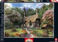 Puzzle Rose Cottage, J. D. Davison Educa 1 500 dielov od 13 rokov