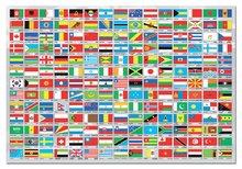 Puzzle 1500 dielne - Puzzle Vlajky sveta Educa 1500 dielov_0