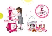 Smoby 24087-1 set kuchynka Hello Kitty Cooky s 19 doplnkami a raňajkový set v taštičke