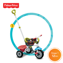 Tříkolky od 10 měsíců - Fisher Price New Grid Jolly jolly 3400733 step 1