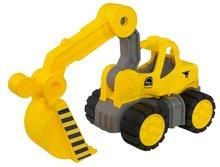 Bagr pro děti Power BIG velký pracovní stroj délka 67 cm od 2 let žlutý