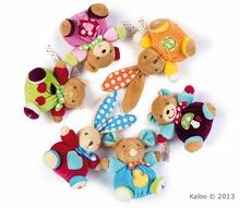 Plyšové zvieratká - Plyšová myška Colors-Mini Chubbies Duck Kaloo 12 cm v darčekovom balení pre najmenších_2