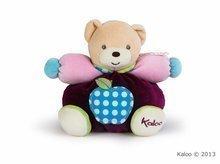 Kaloo plyšový macko Colors-Chubby Bear Apple 963258 tmavočervený