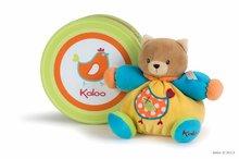Plišasta mucka Colors-Chubby Bear Cat Chick Kaloo 18 cm v darilni embalaži za najmlajše