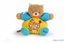 Hračky pre bábätká - Plyšová mačička Colors-Chubby Bear Cat Chick Kaloo 18 cm v darčekovom balení pre najmenších_0