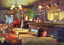 Puzzle 4000 - 8000 dielne - Puzzle Genuine Big Sky Saloon Educa 6000 dielov od 15 rokov_0