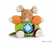 Plyšové zvieratká - Plyšová myška Colors-Chubby Mouse Snail Kaloo 18 cm v darčekovom balení pre najmenších_1