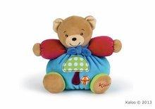 Kaloo plyšový macko Colors-Chubby Bear Mushroom 963254 modrý