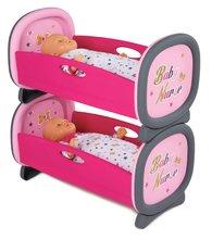 Poschodová posteľ pre dve bábiky 42 cm Baby Nurse Zlatá edícia Smoby od 24 mesiacov