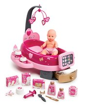 Opatrovateľské centrum pre bábiky Baby Nurse Zlatá edícia Smoby s 32 cm bábikou