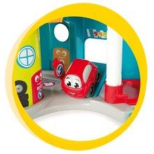 Staré položky - Poschodová garáž Vroom Planet Mini Bolide Smoby s autíčkom od 18 mes_2