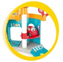 Staré položky - Poschodová garáž Vroom Planet Mini Bolide Smoby s autíčkom od 18 mes_1