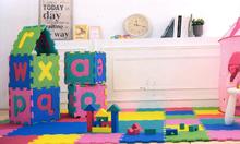 Podlahové puzzle pre bábätká - Penové puzzle Lee podložka pre najmenších 36 dielov 30*30*1,4 cm od 0 mes_6