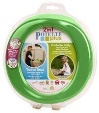 Cestovný nočník/redukcia na WC Potette Plus zeleno-modrý