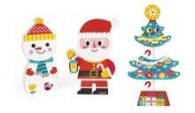Drevené magnetické figúrky Mikuláš a jeho priatelia Funny Magnets Janod v darčekovom balení od 18 mesiacov 3 ks