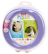 Cestovný nočník/redukcia na WC Potette Plus fialovo-zelený