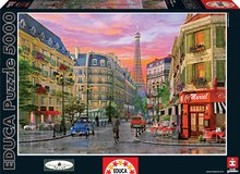 Puzzle D. H. Davison Rue Paris Educa 5000 dielov od 15 rokov