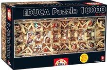 EDUCA 16065 Puzzle Genuine Sixtine Chapel, 18000 db