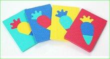 Pěnové puzzle Ovoce Lee Chyun v tašce pro nejmenší 4 díly