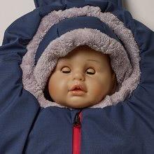Dojčenské kombinézy - Kombinéza do kočíka Red Castle Performance extra teplá modrá od 6-12 mes_1